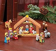 9pcs Mini Christmas Nativity Set Stab…