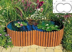 Beckmann kb1tk1 raised pond size 1 garden for Garden pond amazon