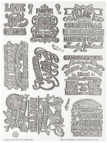 hot-off-the-de-presse-tampons-acrylique-15-x-20-cm-sheet-christmas-cheer