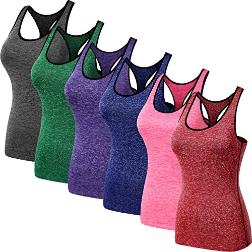 Neleus-Womens-3-Pack-Compression-Dry-Fit-Tank-Top