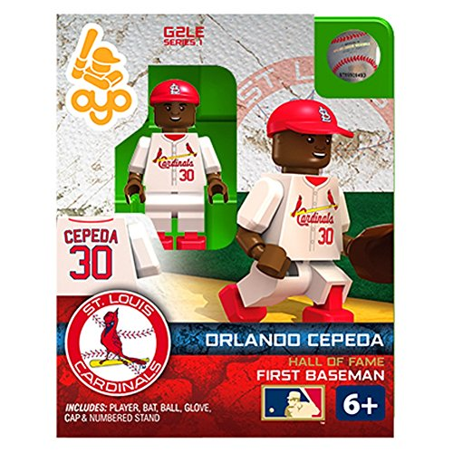 Orlando Cepeda MLB St Louis Cardinals G2S1 Hall of Fame Mini Figure OYO