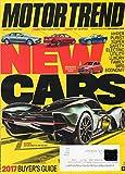 Motor Trend 2016 Magazine HYPER: ASTON MARTIN AM-RB 001 SAFETY: VOLVO S90 ECONOMY: CHEVROLET SONIC