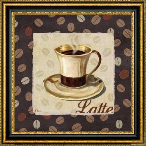 "Cup of Joe III by Paul Brent - 24"" x 24"" Framed Premium Canvas Print"