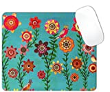 Spring Flowers Art Painting Square Mouse pad