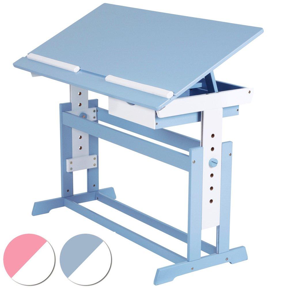 Kinderschreibtisch Schülerschreibtisch 109x55cm höhenverstellbar (Farbwahl) online kaufen