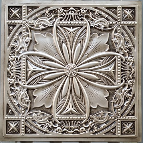 PL10en plusieurs finitions disponibles: Blanc Antique plafond Panneaux muraux décoration carrelage 3D Relief Café Pub Shop Art 10pieces/Lot