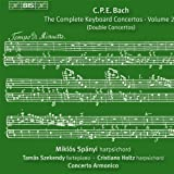 C.P.E.バッハ : 鍵盤協奏曲全集 Vol.20 (C.P.E.Bach : The Complete Keyboard Concertos ・ Vol.20 (Double Concertos) / Miklos Spanyi , Tamas Szekendy , Cristiano Holtz , Concerto Armonico) [輸入盤]