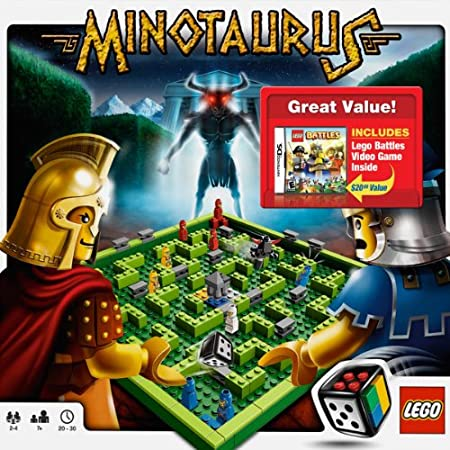 Lego Battles with Lego Minotaurus Set
