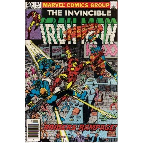 Iron Man #145 Comic Book