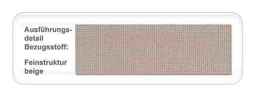 Polsterbett Baldur Kopfteil gesteppt Varianten Bettgestell Futonbett Doppelbett Singlebett Bett Schlafzimmer Jugendzimmer, Liegefläche:160 x 200 cm;Farbe:beige