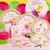 Garden Fairy Standard Party Pack for 8 Party Supplies
