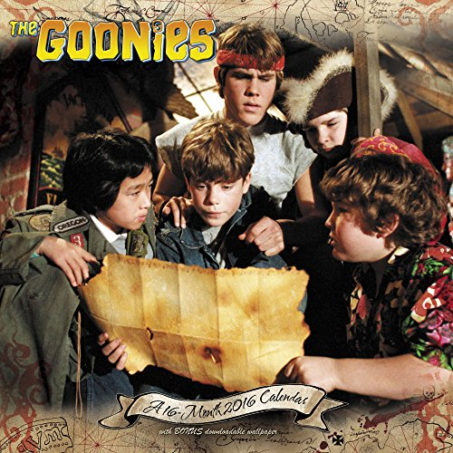 The Goonies 2016 Calendar: Includes Bonus Downloadable Wallpaper