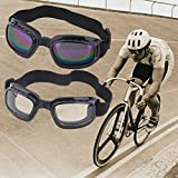 Banggood Unisex Safety Goggles Foldable Anti Glare Polarized Windproof Anti Fog Sun Protective Adjustable Strap...