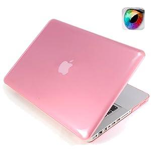 Funda Carcasa POLICARBONATO Rosa Translucida Apple Macbook Pro 15.4 RETINA Display  Electrónica revisión y descripción más