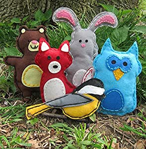 Woodland animals kids arts crafts project for Amazon arts and crafts for kids