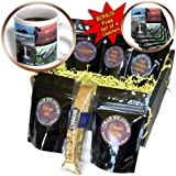 Sandy Mertens Hawaii Travel Designs - Hawaiian Collection - Coffee Gift Baskets - Coffee Gift Basket (cgb_6072_1)