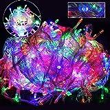 GOODGOODS LED イルミネーション ライト クリスマス 飾り LED電飾 ミックスカラ- 1000球 60m(500球30m×2個セット) 連結可 防水 LD66 RGB