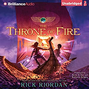 The Throne of Fire: Kane Chronicles, Book 2 | [Rick Riordan]