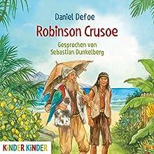 Robinson Crusoe Hörbuch von Daniel Defoe Gesprochen von: Sebastian Dunkelberg