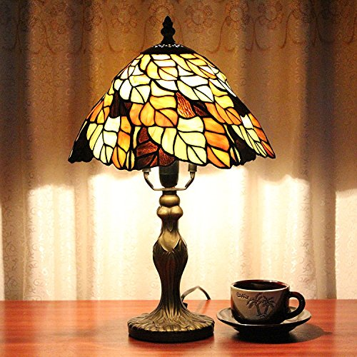 carl-artbay-tiffany-style-lamp-8-inch-lighting-retro-luxury-nobility-leaf-shaped-bedroom-bedside-lam
