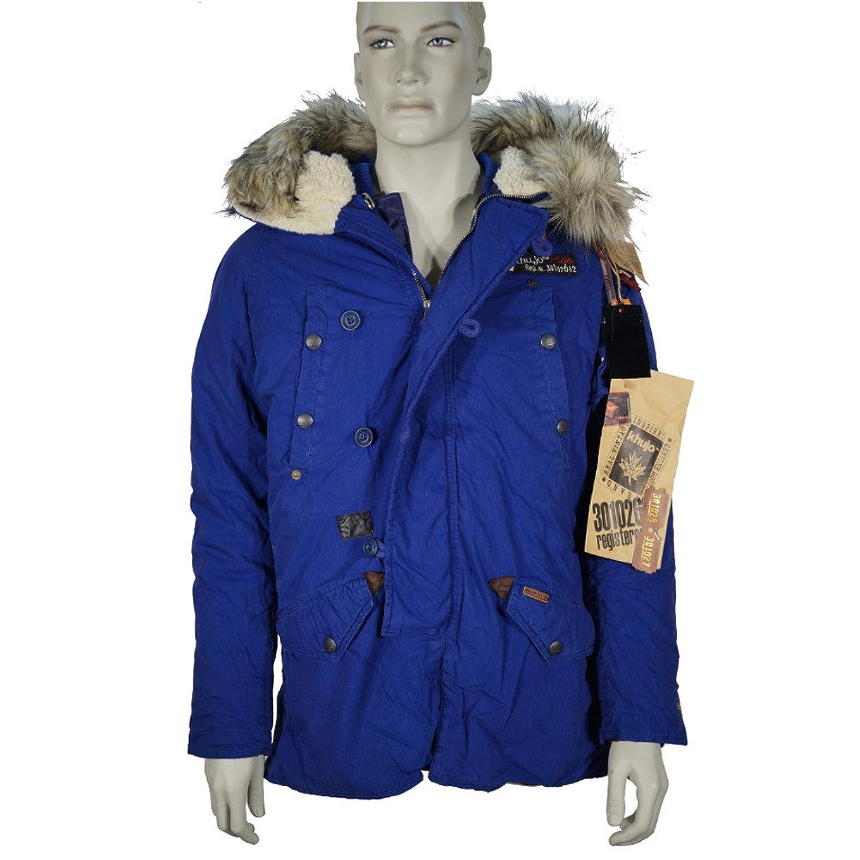 Khujo Herren Winterjacke Yanked in co-blue verschiedene Größen bestellen