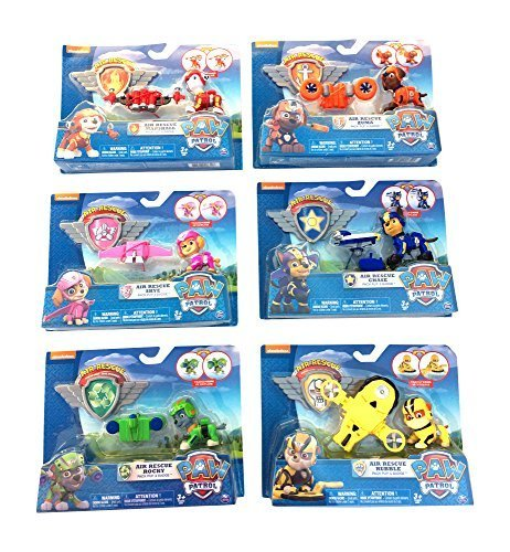 nick-jr-paw-patrol-air-rescue-pack-pup-action-figure-bundle-set-of-6-works-with-air-patroller-by-nic
