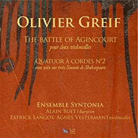 Greif: The Battle of Agincourt - Quatuor � Cordes No. 2