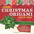 Jumbo Christmas Origami Paper Pack (Stationery)