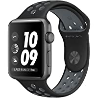 Apple Watch Nike+ Series 2 42mm Smart Watch in Space Gray Aluminum Case with Black/Cool Gray Nike Sport Band