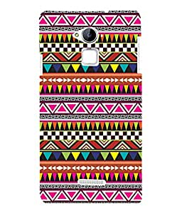 printtech Ethnic Pattern Back Case Cover for Coolpad Note 3 Lite