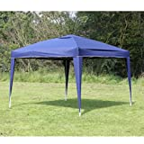 Confidence Pop up Gazebo Party Tent - 3m x 3m (10' x 10') , Navy Blue