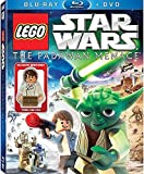 LEGO Star Wars: The Padawan Menace Blu-ray & Standard DVD Combo Pack with Young Han Solo Minifigure