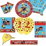Fireman Sam Bumper Party Supplies Pack