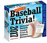 365 Days Of Baseball Trivia! Page-A-Day Calendar 2017