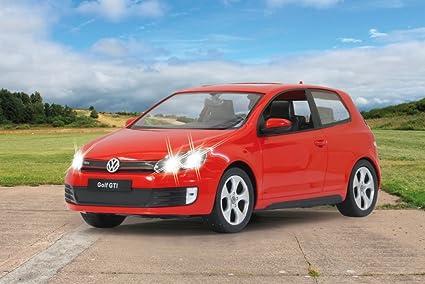 Jamara - 404275 - Maquette - Camion - Volkswagen Golf Gti - Rouge - 3 Piu00e8ces