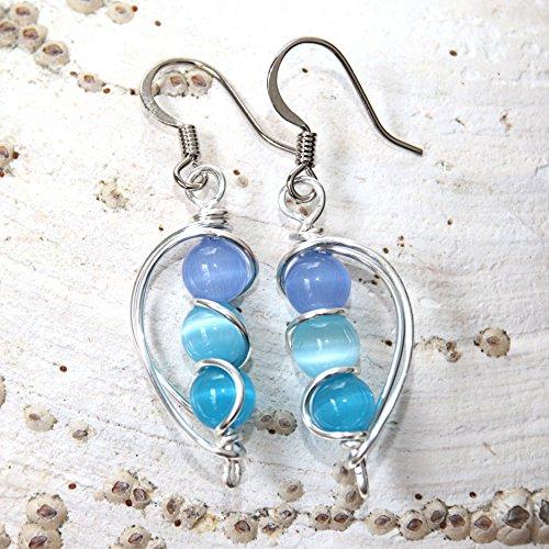 blue-aqua-and-teal-earrings-handmade-beach-wear