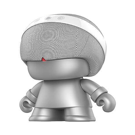 Xoopar Design Grand Xboy Enceinte portable Argent Métallique