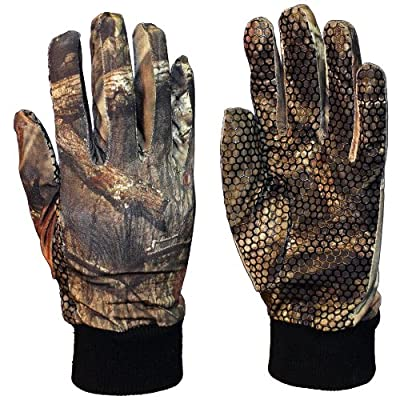 Men's Gamehide Elimitick Camo Insect-Repellent Gloves