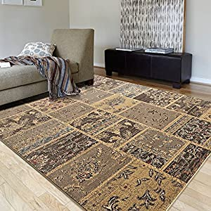 Ustide Turkish Area Rug For Living Room