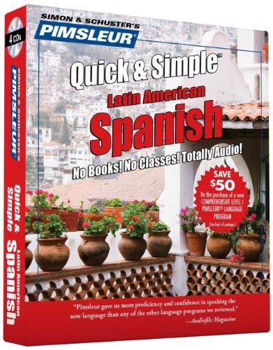 Pimsleur Quick & Simple Latin American Spanish