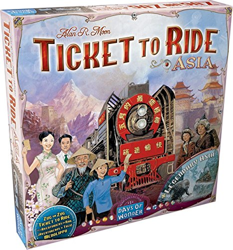 Ticket To Ride Asia: Map Collection - Volume 1 (Ticket Ride Trains compare prices)
