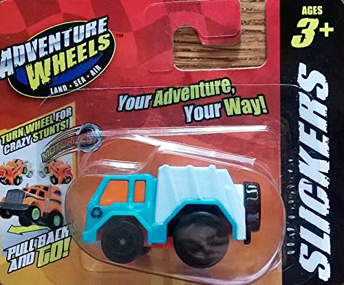 Adventure Wheels - Slickers, Micro Pull Back Vehicle