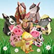 Hunkydory Box-Pops on the Farm Luxury Card Collection - Makes 8 Cards