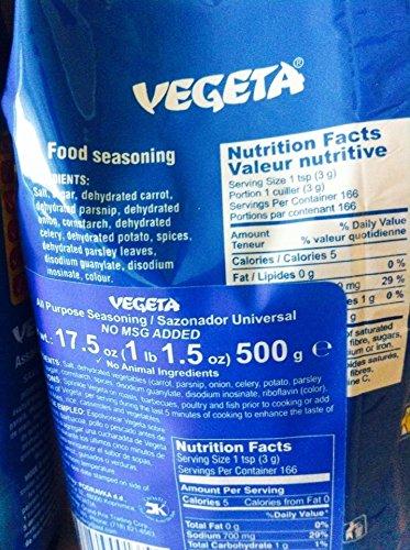 how to use vegeta seasoning