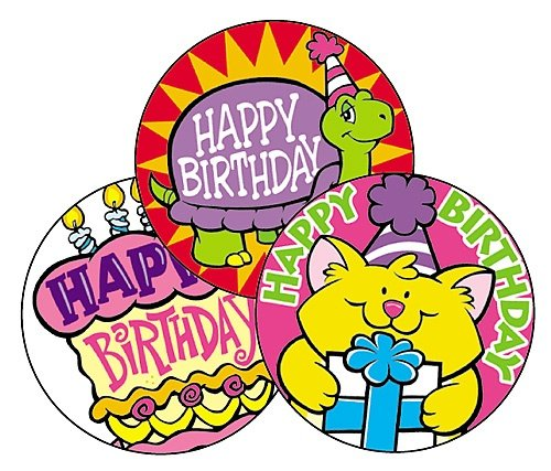 STINKY STICKERS BIRTHDAY FUN - Buy STINKY STICKERS BIRTHDAY FUN - Purchase STINKY STICKERS BIRTHDAY FUN (Trend, Toys & Games,Categories,Arts & Crafts,Stamps & Stickers)