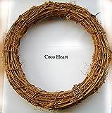 ~Coco Heart~ 藤 リースベース 30cm(リース・ドライフラワー)