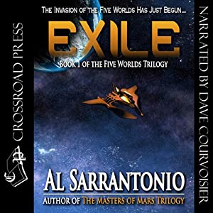 Exile: The Five Worlds Trilogy, Book 1 | [Al Sarrantonio]