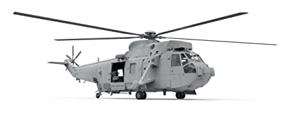 Airfix - Ai04056 - Westland Sea King Hc.4 - 133 Pièces - Échelle 1/72