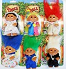 (One) DAM Original Troll Kids 4 Collectible Troll #505, from Denmark (6 to choose from as pictured)