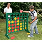 BIG 4 - GIANT VERSION OF CONNECT 4 TABLE GAME IN WOOD